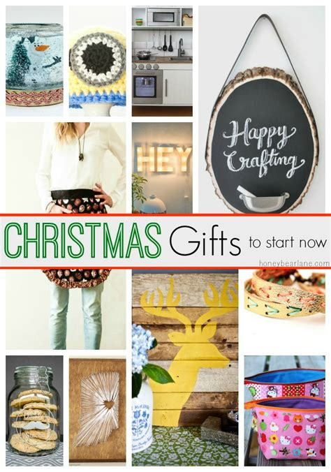 20 handmade christmas gifts to start now honeybear lane