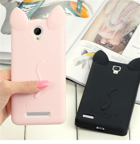 Xiaomi Redmi Note Soft Gel Jelly Silicon Tpu Casing Cover Bumper cat ears soft gel tpu silicon cover for xiaomi redmi note 2 inphone bags cases from