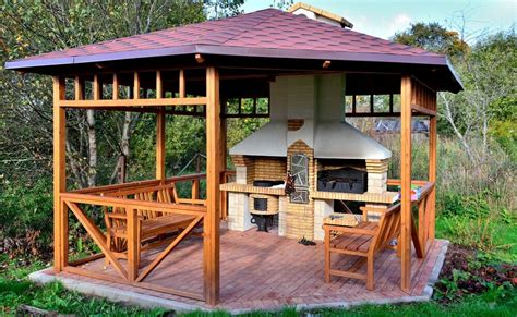 Free Kitchen Designs by 32 Wooden Gazebos That Provide Rich Design And Comfortable