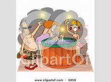 Royalty-Free (RF) Clip Art Illustration of a Cartoon Rough ... Free Clip Art For Massage Therapy