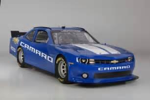 new chevy race car 2013 chevy camaro nascar nationwide race car revealed