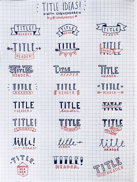 design ideas title bullet journal titles bullet journal pinterest