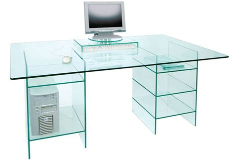 Glass Computer Desk Uk Glass Computer Desk Uk