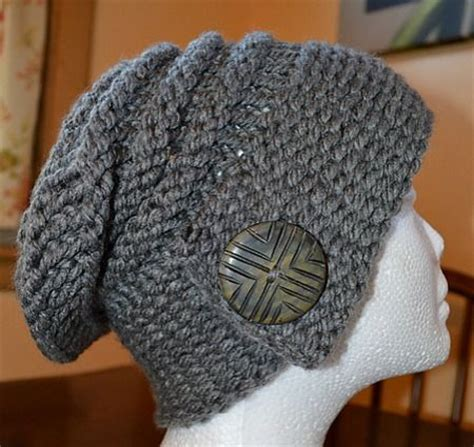 knitting pattern notes the city slouch hat loom knitting video tutorial make
