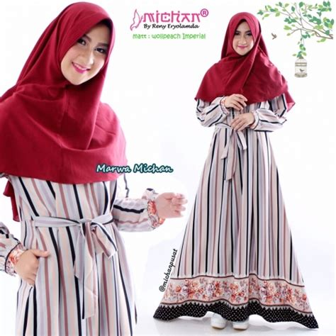 Marwa Dress sold out marwa dress michan michan co id
