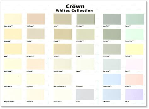 resene paints ltd resene crown whites collection colour chart