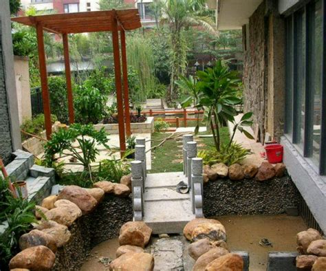 Pics Of Small Home Gardens حدائق منزلية صغيرة بالصور المرسال