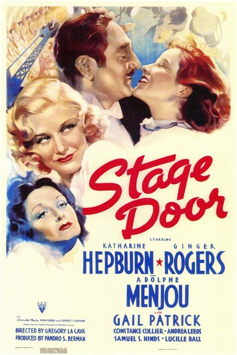 Stage Door 1937 by A Year With Kate Stage Door 1937 The