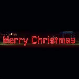 merry christmas led garland rope light display 40