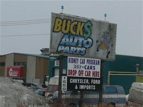 buck auto parts winnipeg mb automobile salvage yards