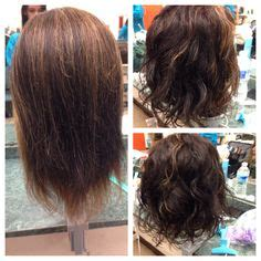 before and after korean short perm hairstyle hair on pinterest ombre hair selena gomez and loose curls