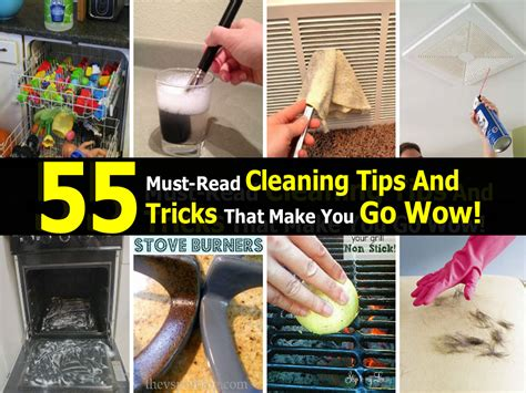home tips and tricks 55 must read cleaning tips and tricks that make you go wow