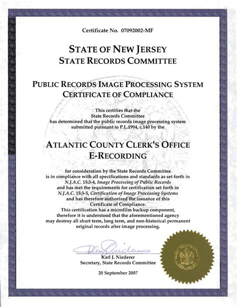 Atlantic County Clerk Records Atlantic County