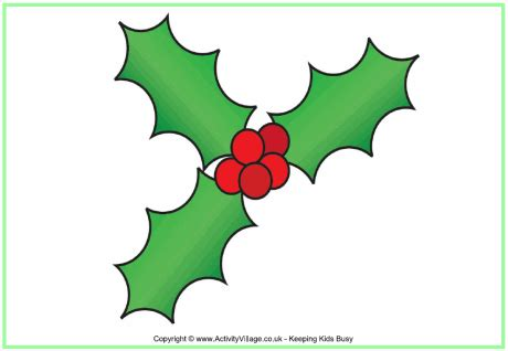 printable holly images holly poster christmas printables for kids
