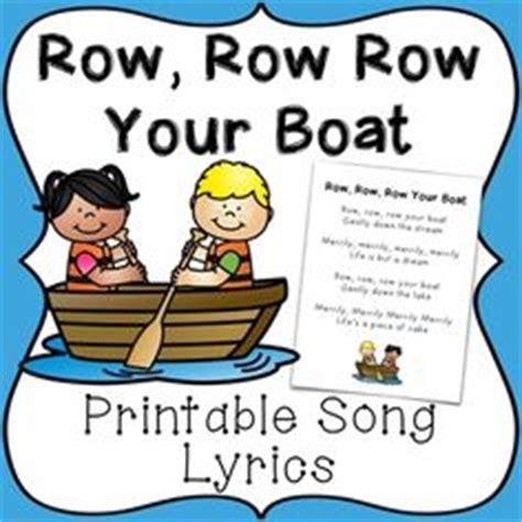 row row row your boat lyrics with alligator im a little hour hand song lyrics and free printable