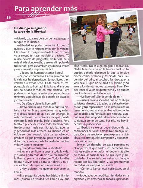 libro de cvica y tica 4 grado de primaria formaci 243 n c 237 vica y 201 tica cuarto grado 2016 2017 online