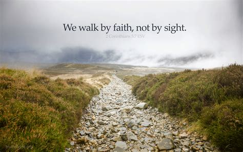 by by latest wallpaper quot we walk by faith quot truth for life