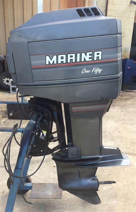 boat motors 150 hp 150 hp mercury mariner outboard boat motor for sale
