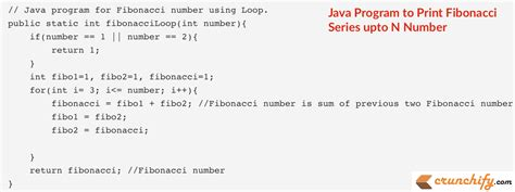number pattern java program write java program to print fibonacci series upto n number
