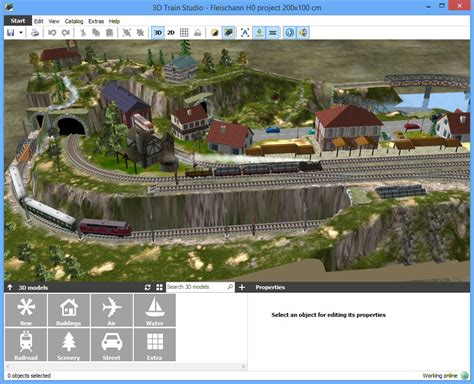 railroad layout software free download 3d train studio 2 3 1 3 free download software reviews