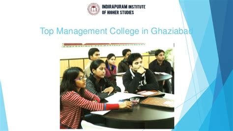Mba Colleges In Ghaziabad by Top Management College In Ghaziabad