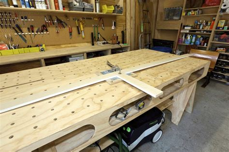 woodworking shop benches garage workbench bench dog diy woodworking projects