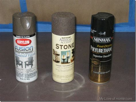 spray paint what do you need redo the kitchen counters with spray paint and poly i