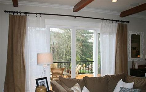 draperies for sliding patio doors hanging curtains on sliding glass doors curtain