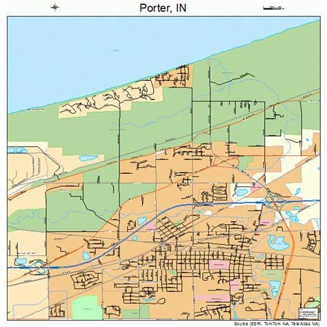 porter indiana map 1861164