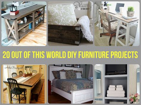easy diy furniture 20 out of this world diy furniture projects