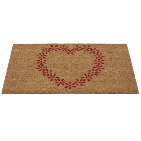 Flower Doormat - gardman 82909 flower patterned doormat coir