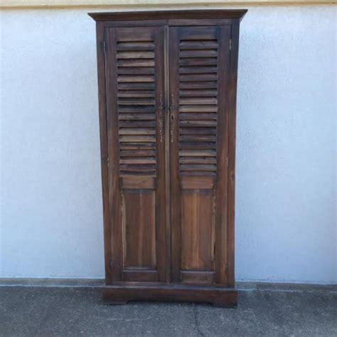 Louvered Door Cabinet Louvered Door Cabinet Nadeau Alexandria