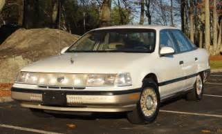 how to sell used cars 1990 mercury sable electronic valve timing 1990 mercury sable gs sedan only 42k miles 3 0 white nice l k nr for sale photos technical