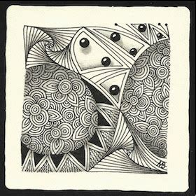 zentangle pattern knase enthusiastic artist pixioze a new tangle