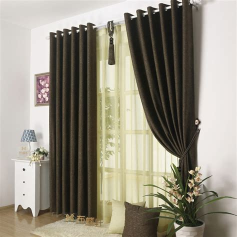picture of curtains solid color energy saving home window curtains for sale