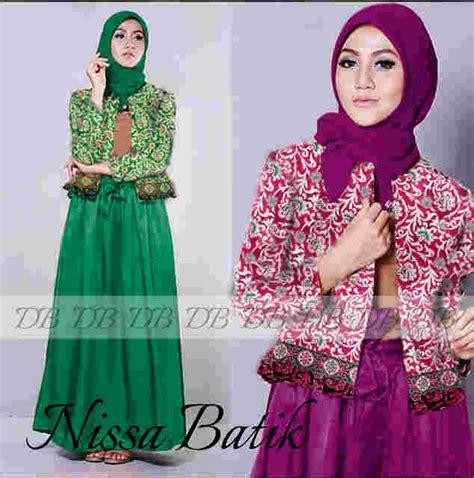 Baju Batik Muslim Baru Alya Store busana muslim terbaru siput store