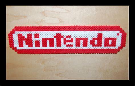perler nintendo nintendo logo perler by maypoman on deviantart