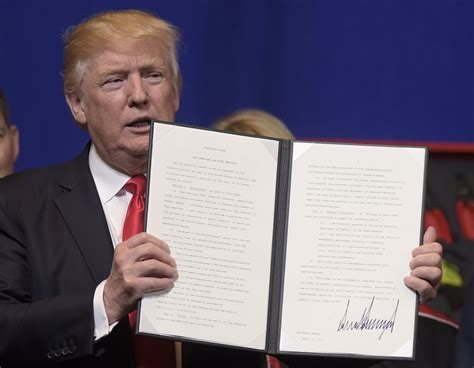 Executive Order signed an executive order targeting skilled foreign