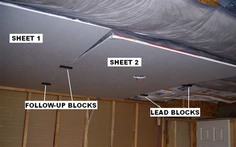 Install Drywall On Ceiling by Install Drywall To A Garage Free Programs Utilities And