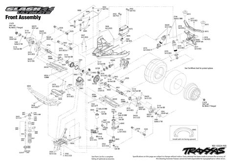 traxxas slash diagram slash 4x4 turn on steering right help