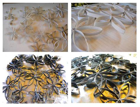 fiori di carta riciclata fiori di carta riciclata per decorare la parete cose di casa