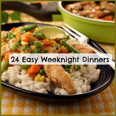 weeknight dinner 24 easy weeknight dinners mrfood