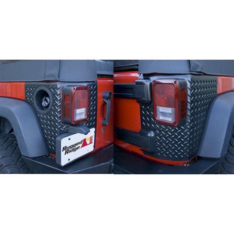 rugged ridge australia rugged ridge corner guards armor 07 up jeep wrangler jk 4 door aftermarket jeep parts