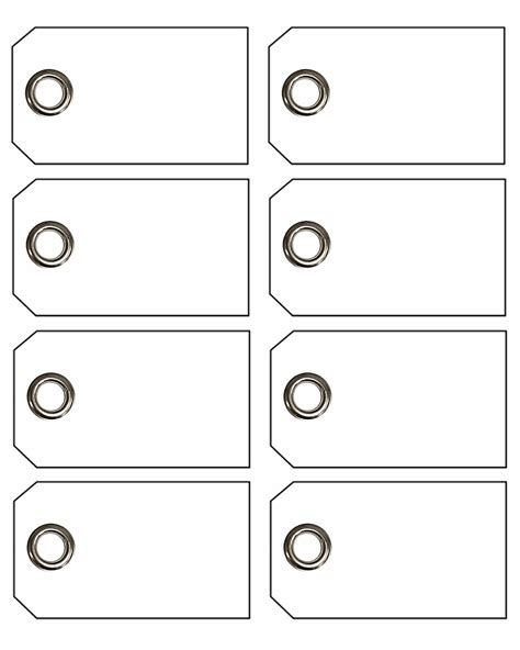 free printable blank tag templates