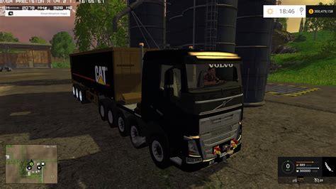 cat trailer cat trailer 300000 liters mod farming simulator 2015