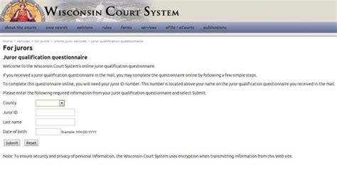 Wicourts Gov Search Jury Duty Reminders Now Available Via Text Message Local News Journaltimes