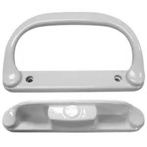 patio door handle set white replacement pd1520white
