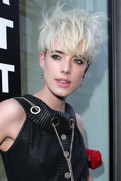 Model Of The Year Agyness Deyn by Agyness Deyn 2008 And And Hair