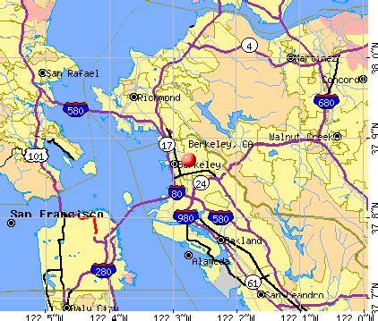berkley california map berkeley california ca profile population maps real