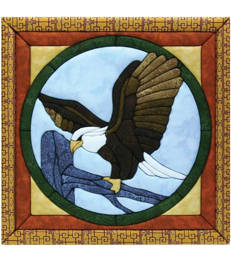 eagle quilt magic kit 12 quot x12 quot jo